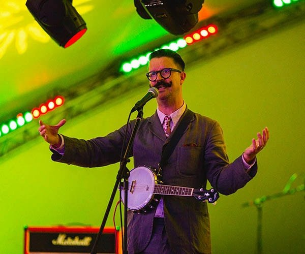 Mr B The Gentleman Rhymer at Magical Festival
