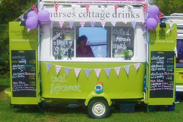 Nurses Cottage festival drinks van