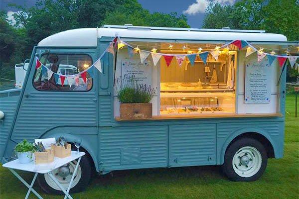 The Grey Earl festival food van