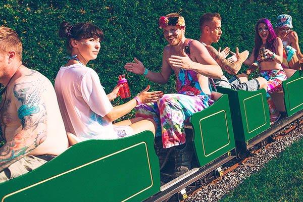 Miniature railway at Magical Festival